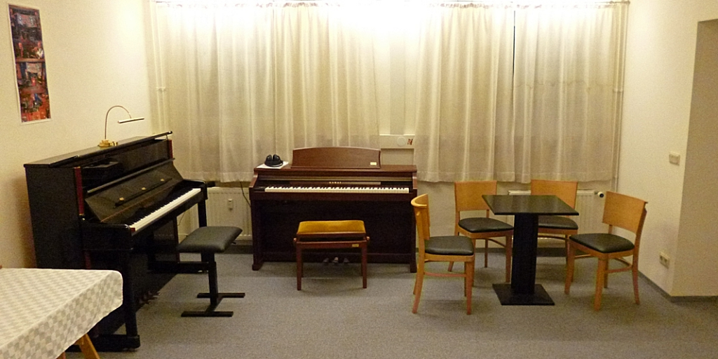 Beratung im Klavier-Salon-Gläser in Greifswald.